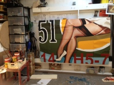 "Work in progress ""Legs 51"" for Karlsruhe"