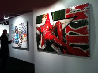 French Art Studio AAF Battersea 2013 Spy five by Alban
