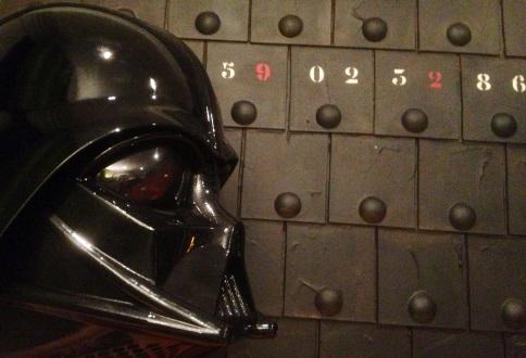 Darth Vader meets Secret code