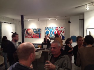 Opening reception at Envied'Art