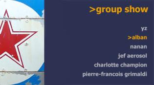 September group show at >french artstudio